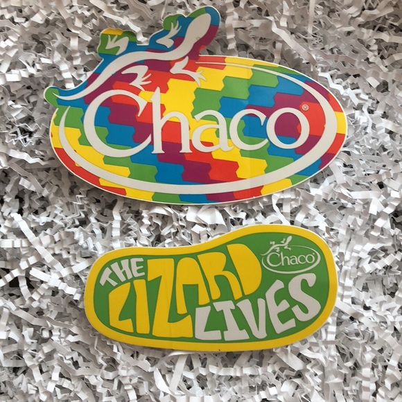Chaco Stickers AUTHENTIC 🦎 NWT